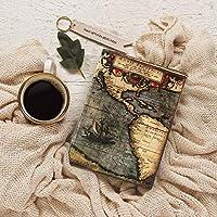 Diario sin forro en blanco Diario diario Cuaderno de viaje cuaderno de bocetos Planificador personal Organizador ecológico ideas para regalos (antigua colección de mapas) por storeindya