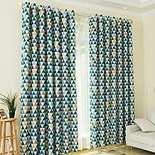 kinlo cm cortina opaca cortina para ventana cortina trmica contra el sol color mixto