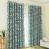 KINLO® 1 Set 145x245cm Vorhang blickdicht Verdunklungsvorhang aus 100% Polyester TOP Qualität Ösen Vorhang für Kinderzimmer Gardinen verdunkelung Fenstervorhang wohnzimmer modern 2 Jahren Garantie