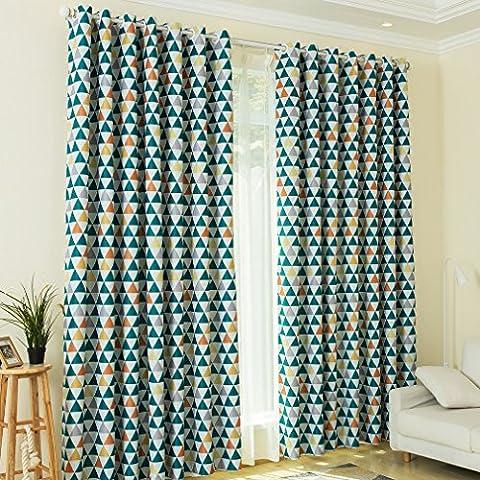 KINLO® 1 Set 145x245cm Vorhang blickdicht Verdunklungsvorhang aus 100% Polyester
