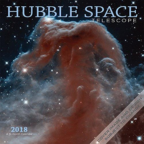 Hubble Space Telescope – Hubble-Weltraumteleskop 2018 - 16-Monatskalender: Original BrownTrout/Wyman Publishing-Kalender [Mehrsprachig] [Kalender] (Wall-Kalender)