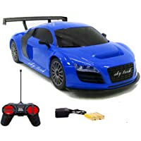 Sky Tech® Rechargeable Racing Car for Kids with Remote Control - Assorated Design & Multi Color