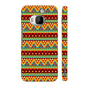Htc One M9 Plus Aztec Eleven designer mobile hard shell case by Enthopia