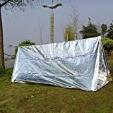 Best Survival Shelter - Shells Silver Color 7.87 Feet By 5.25 Feet Review