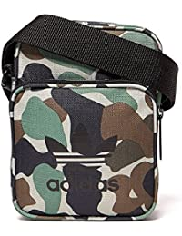 5e007e8225 Adidas Originals Camo Mini Small Bag Shoulder Messenger Airliner Bag CY8473
