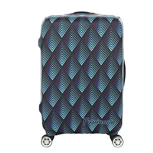 """Deylaying Creativo Anti-graffio Viaggio Bagaglio Protettivo Copertina Valigia Baggage Zipper Borsa 18""""-32"""""""