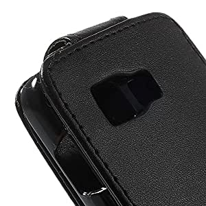 JUJEO Vertical Magnetic Flip Leather Case for Samsung Galaxy Young 2 SM-G130 - Carrying Case - Non-Retail Packaging - Multi