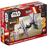 Revell Star Wars Build & Play EasyKit Episode Vii The Force Awakens, First Order Special Forces Tie Fighter with Light & Sound Effects