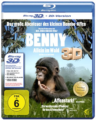 Benny - Allein im Wald (Prädikat: Wertvoll) [3D Blu-ray + 2D Version]