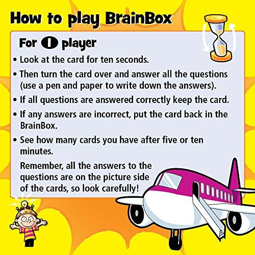 Imagen 3 de Green Board Games BrainBox The World - Juego de preguntas sobre el mundo (en inglés)