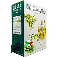 Frantoio Oleario Martino Alfonso - 5lt BAG in BOX - Olio Extra vergine di oliva 100% Italiano estratto a freddo