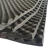 soomj Studio Sound Akustik Absorption Auto hitzebeständig Foam deadener 50x 80cm 4.3sqft 15.7