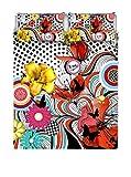 Ki-osa by MATTEO BOSIO Parure Copripiumino Multicolore 2 matrimoniale 250 x 200 cm