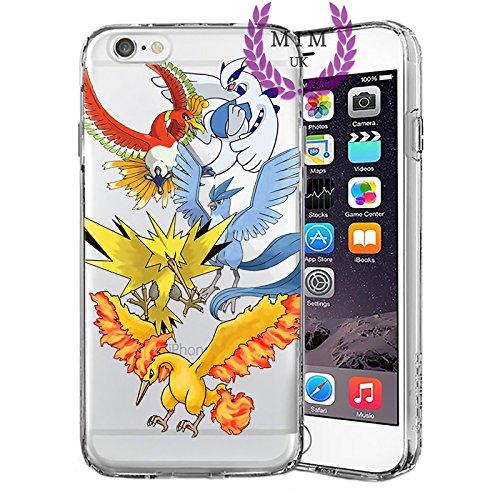 Custodie iPhone per Pokemon Case Cover - Design Ultimi Unique - Tutti i modelli iPhone - Brand New - Alta Qualità - Pikachu - Mew - Mewtwo - Gengar - Charmander - Charizard - Blastoise - Rayquaza - Lu Birds