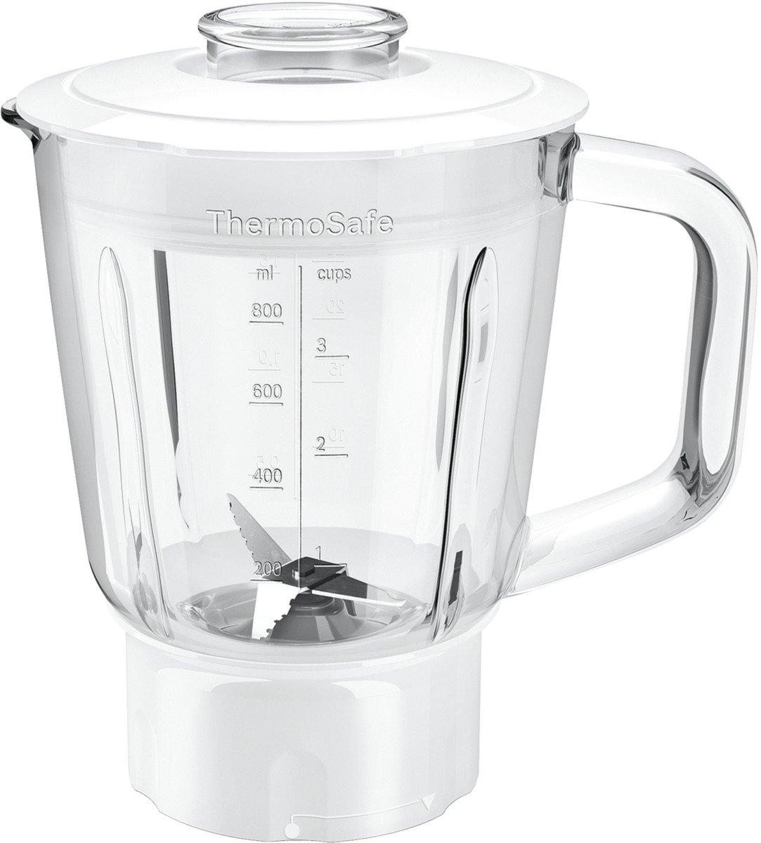 Bosch-MUZ45MX1-ThermoSafe-Mixer-Aufsatz-Glas-Behlter-mit-Edelstahl-Messer-Wei