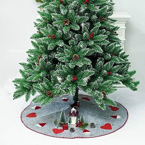 INICIO Festival de Navidad DECORACIONES Parte inferior de la falda ...