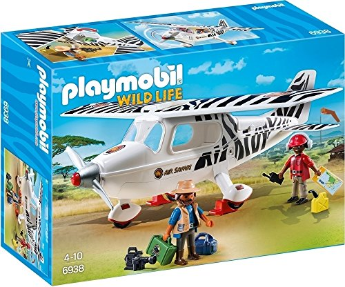 Playmobil Avion avec explorateurs