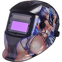 NUZAMAS solarbetrieben Schweißschutzschild Maske Schweißen Face Schutz für Arc Tig Mig Schleifen Plasma Schneiden mit…
