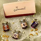 #6: Decadenz Chocolate Fudge Gift Pack   Sweet Surprise   Gift Box of 4 uni Jars (100 Gms Each)