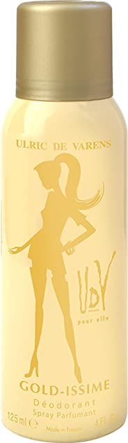 Ulric De Varens Gold Issme Deodorant, 125ml