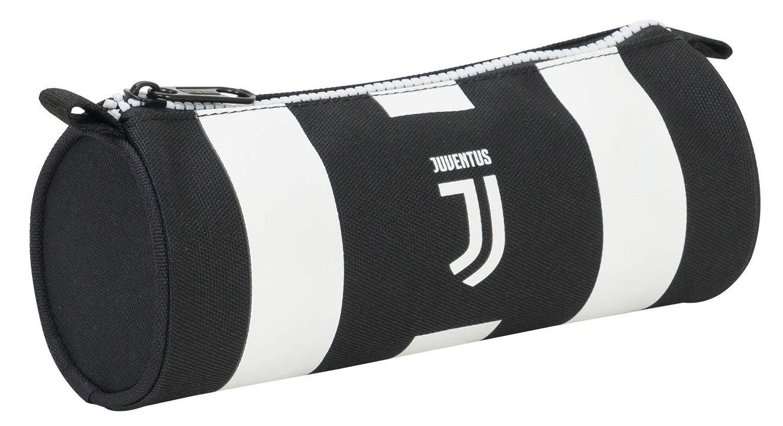 Seven Tombolotto Juventus Coaches Estuches 21 Centimeters 0.5 Negro (Bianco e Nero)