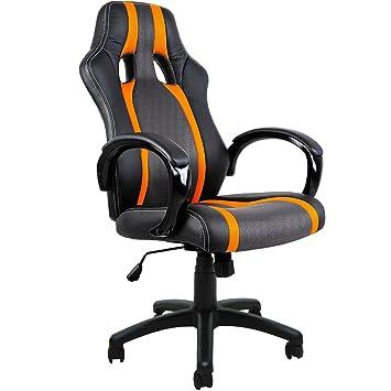 Deuba Executive Racing Style Computer Gaming Desk Chair High