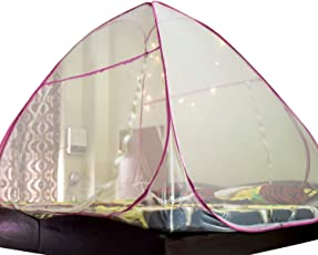 Positive Mosquito Net Foldable King Size (Double Bed)