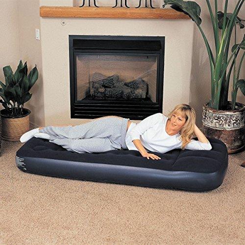 Generic IR-Bett für Camping, aufblasbar, beflockt, C-Entspannung, Luftbett mit eingebautem Stecker, aufblasbare Einzelmatratze