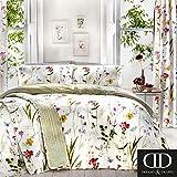 Dreams & Drapes Spring Glade Mikrowellen-Drehteller, 52% Poliestere, 48% in Cotone, Multicolore, Singolo