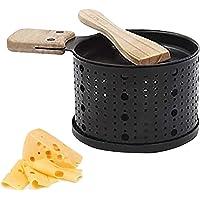 Qiamay 1/2/4 Pc Une raclette à la Bougie, Poêlons Four Lent Fromage Pain Grill, Faites Fondre Votre Fromage en 3 Minutes…