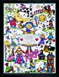 Design Works Nursery Rhymes Cross Stitch Kit, Multi-Colour