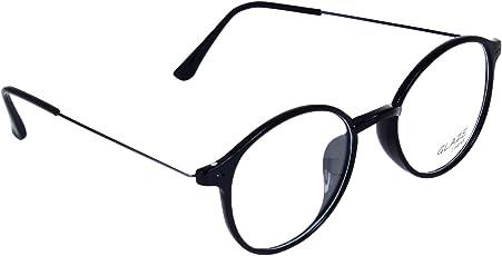 GLAZE iWEAR Unisex TR Wire Temple Eyeglasses (402|Black)