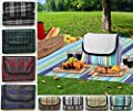 Extra Large Waterproof Picnic Blanket Rug Travel Pet Car Dog Cat Bag Hamper