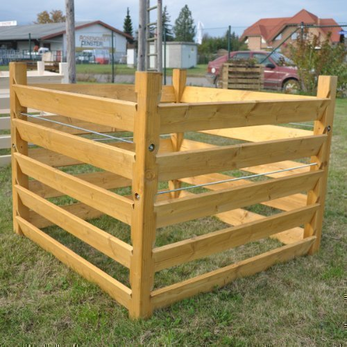 Holz Kompostsilo