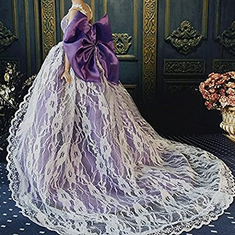 OurKosmos® Splendida partito Handmade abito Vestiti & abiti da sposa accessori bambola Doll-1PCS