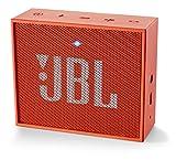 JBL Go Ultra Wireless Bluetooth Lautsprecher (3,5mm AUX-Eingang, geeignet für Apple iOS und Android Smartphones, Tablets und MP3 geräten) orange