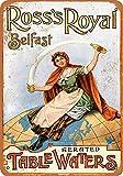 Kia Haop 1902 Ross'S Royal Belfast Table Waters Metall