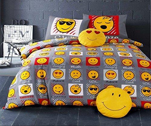 Funda edredón funda almohada Emoji Expressions -