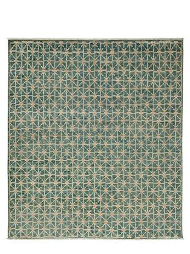 Solo Rugs Ziegler Teppich, handgeknüpft, 183 x 183 cm, Blau (12 X 15 Persisch Teppich)