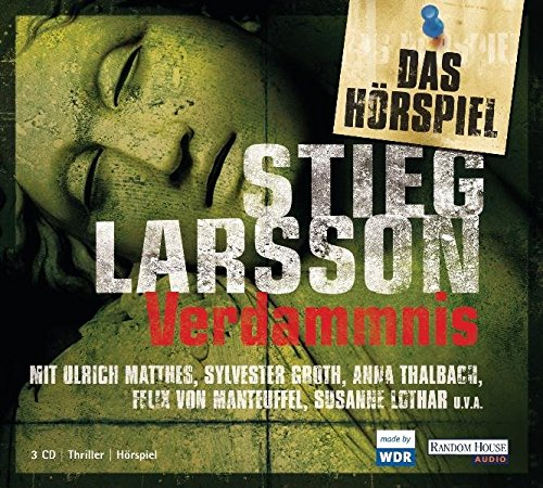 Millenium-Trilogie (2) Verdammnis - WDR 2010 / Random House Audio