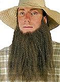 Amish Farmer Bart Kinnbart zum Kostüm zu Karneval Fasching blond