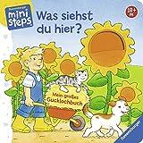 Was siehst du hier? Mein großes Gucklochbuch: Ab 18 Monaten (ministeps Bücher) - Sandra Grimm