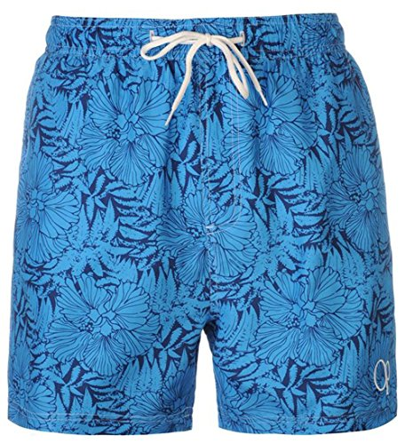 mens-beach-full-floral-swim-shorts-swimwear-large-blue-navy
