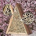 Gardigo Bienenhotel, Bienen-Insektenhotel, Bienenhaus zum Nisten und Überwintern von Gardigo - Du und dein Garten