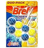 Bref Power Activ Duplo Zitrone Korb WC-Paket 2x 50gr–Total: 100gr