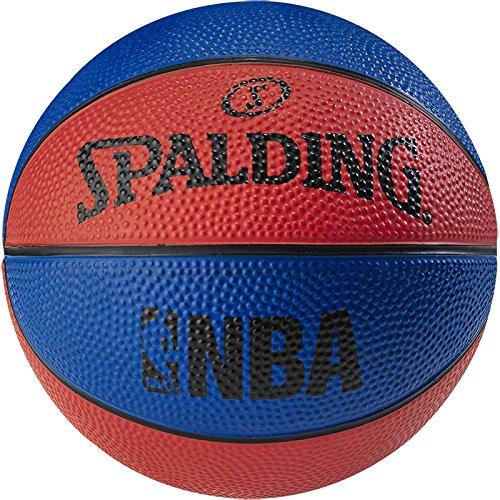 Spalding Nba Sz.1 (66-993Z) Minibalones de Baloncesto, Niños, Azul / Rojo, 1