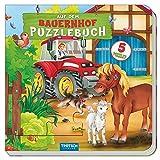 """Puzzlebuch """"Auf dem Bauernhof"""": Mit fünf 9-teiligen Puzzles!"""