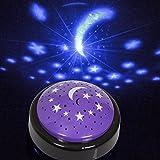 Starlight Projector–Lámpara proyección de Luna y Estrellas