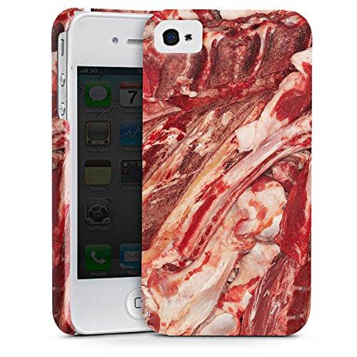 Apple iPhone 5c Silikon Hülle Case Schutzhülle Bacon Design Schinken Premium Case glänzend