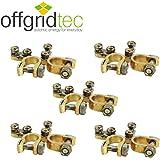 5er Set Offgridtec® Batteriepolklemmen Set Plus und Minus